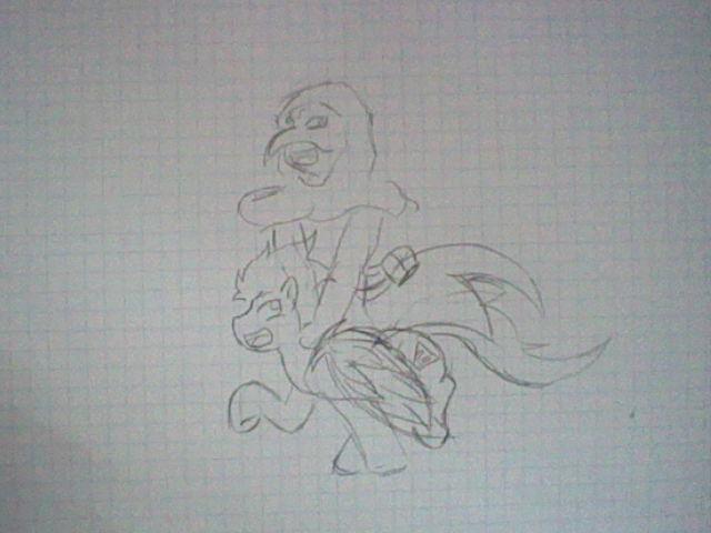 plague doctor riding Plague by IridiumGloom