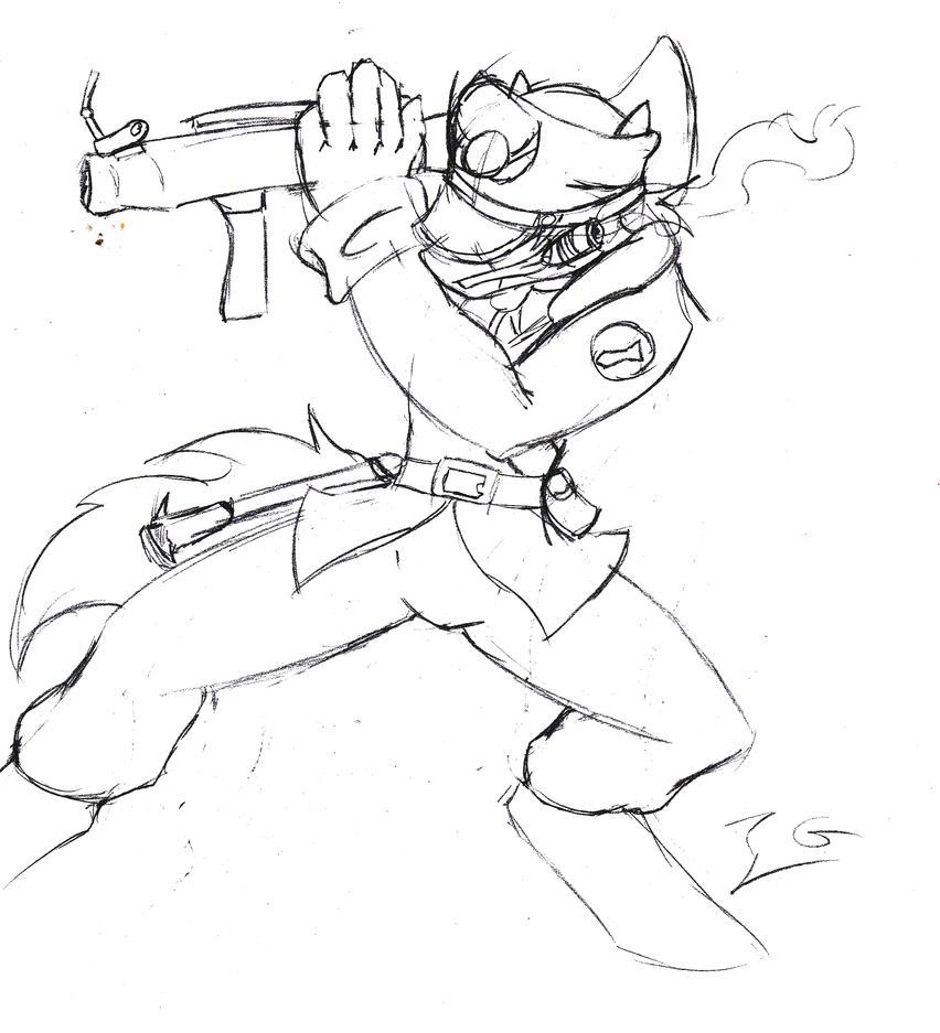 Tf2 Soldier by IridiumGloom