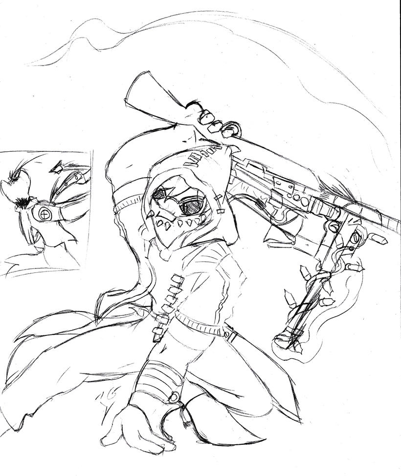 Tf2 Sniper by IridiumGloom