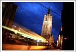 Ghent: Belfry at night