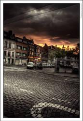 Gent - Ghent: Bij Sint-Jacobs by OnayGencturk