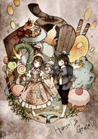 Hansel and Gretel by kaskianioh