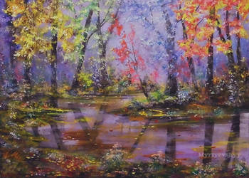 Forest Fairy Tale by MyriyevskyyArtStudio