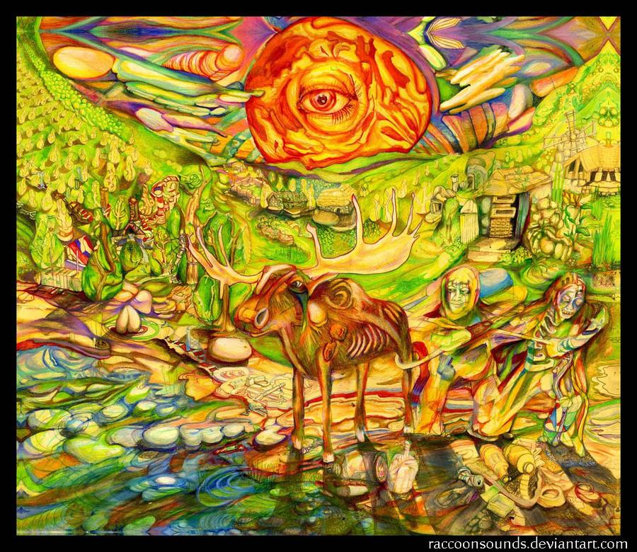 Woodland Cariboo by DeadNettlez