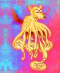 4 of Tentacle werewolf paisley