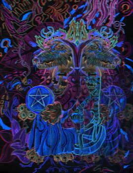 Gemini Queens of Pentacles 3-d