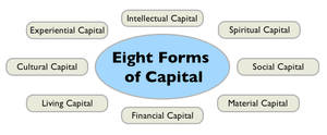 Fig 1 Eight Forms of Captial