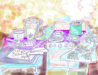 Basil Kitchen! EAT MORE PESTO!