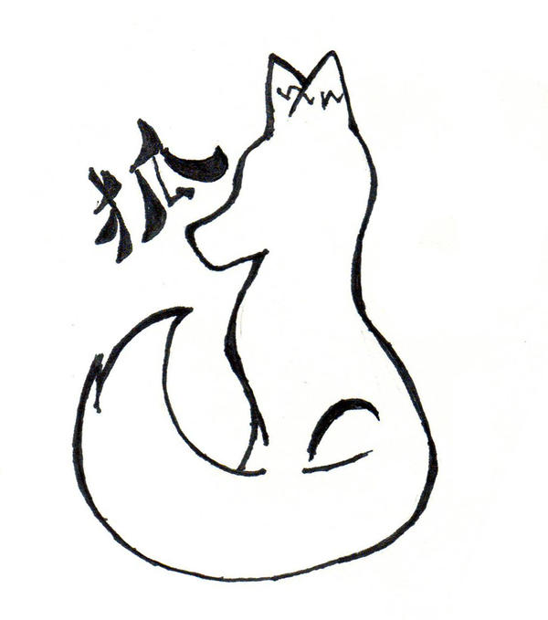 Fox Tattoo 2 Version 2 By Greenfoxstudio On Deviantart