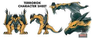 Terrorok Character Sheet