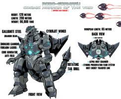 Robo-Gormaru: Cosmic Horror of the Void by Boogie209