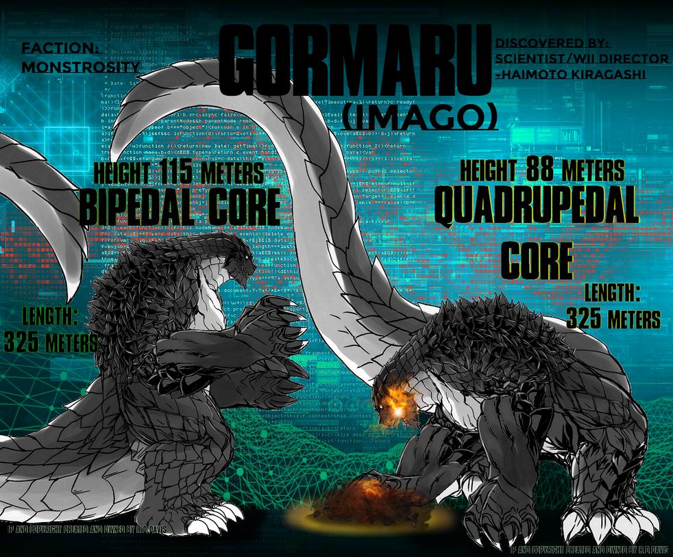 GORMARU(Imago) Core Diagram Sheet by Boogie209 on DeviantArt