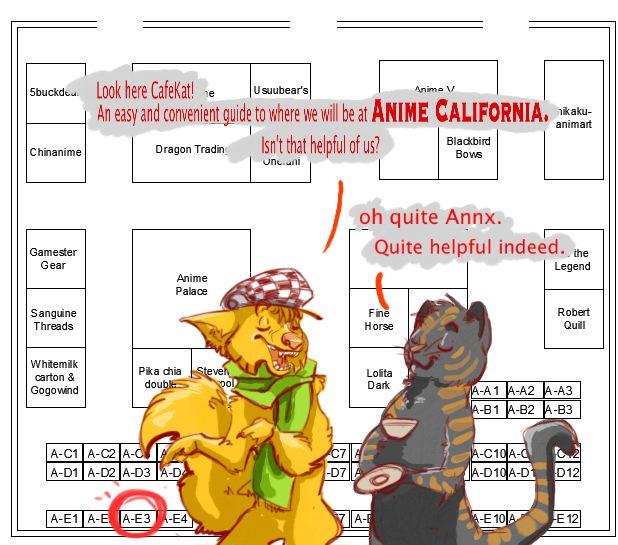 Anime California by darkfox907