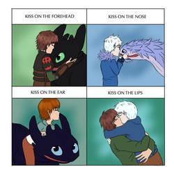 Cute Kiss meme by Watachan