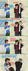 Voltron - Keith on laughing gas by Watachan