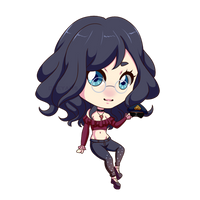 Ruby chibi by Didgeredoos