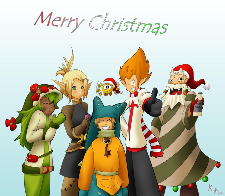 Merry Christmas Wakfu by Maiden-Chynna