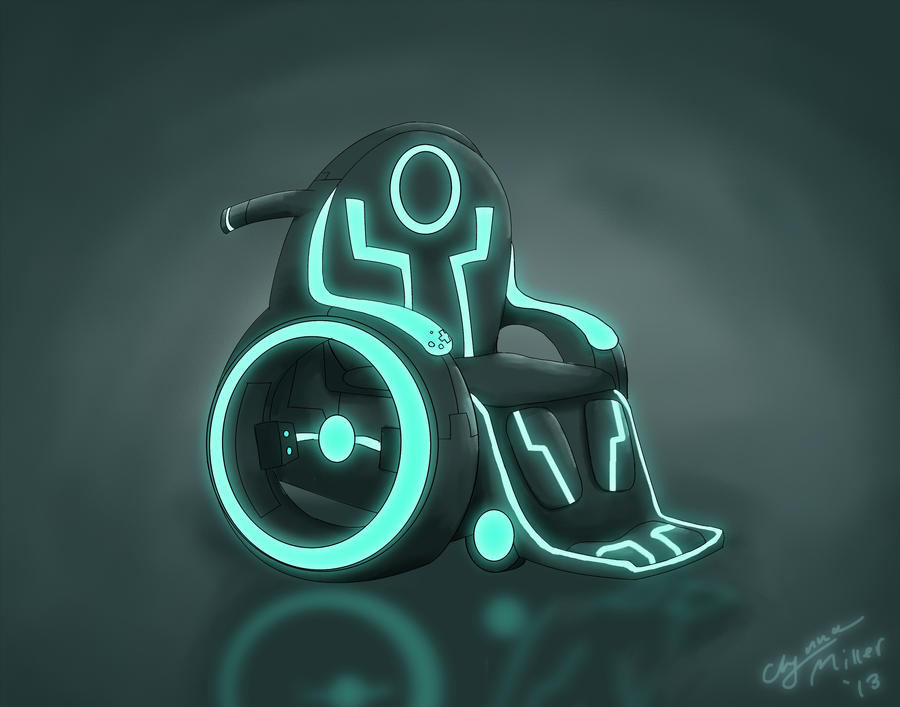 TRON wheelchair by Kanna-Maru
