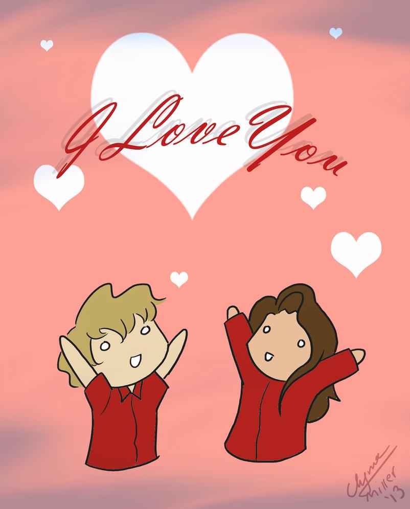 Daft Punk Valentine 2013 by Maiden-Chynna