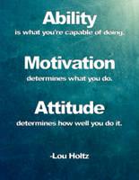 Ability / Motivation / Attitude by slight-art-obsession