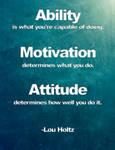 Ability / Motivation / Attitude