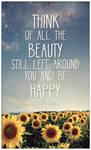 THINK BEAUTY HAPPY
