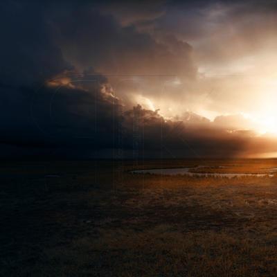 Marshland Sunset by slight-art-obsession