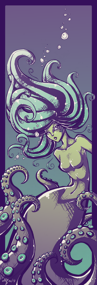 The Sea Witch by 'Tikallyn' by MelitaGermaine