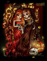 Halloween Coloring Contest 2015 by MelitaGermaine