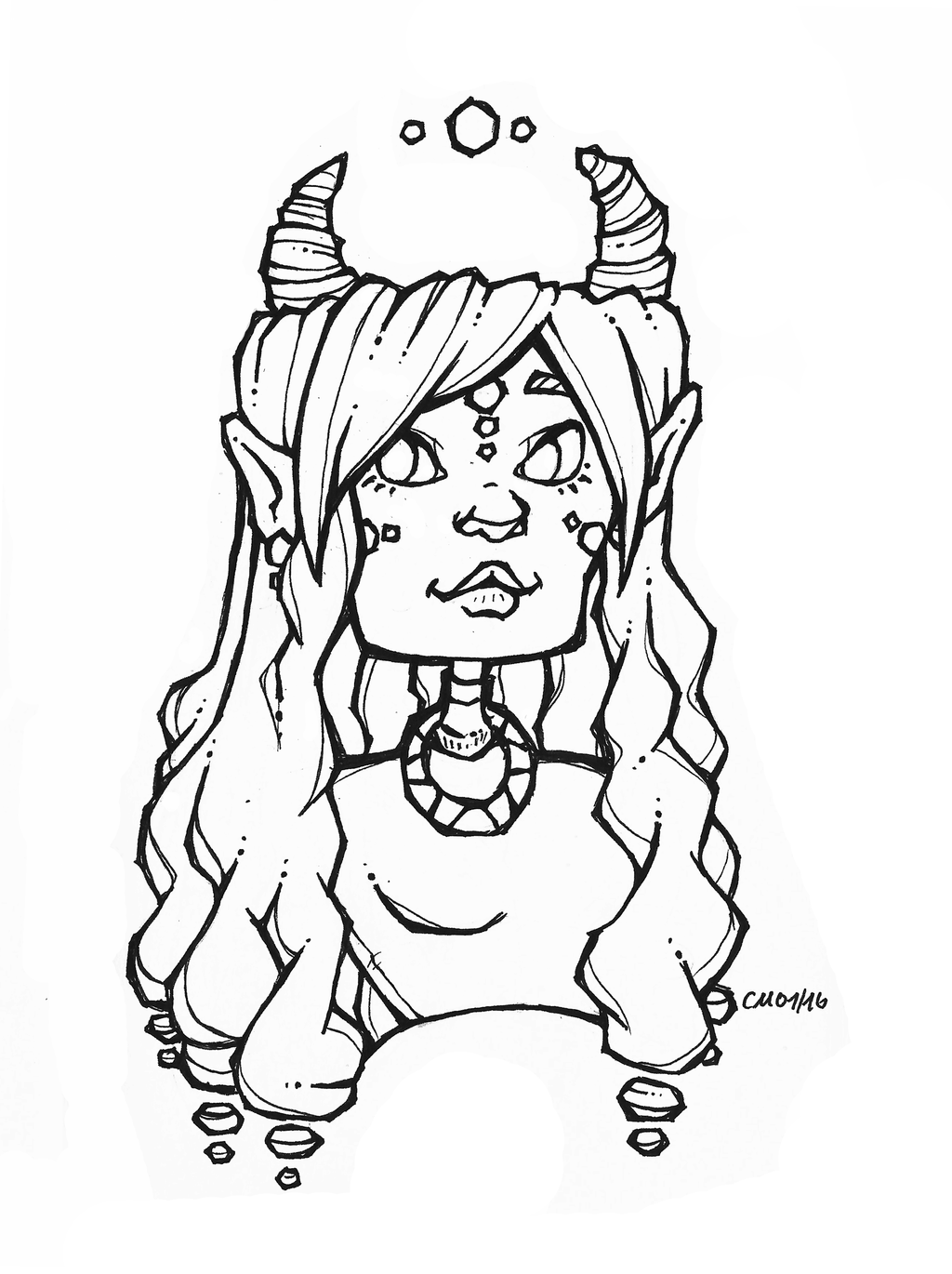 trapezoid coloring page - 25 portrait trapezoid down by captainmetal on deviantart