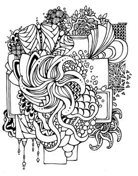 50. Doodles - Pinwheel