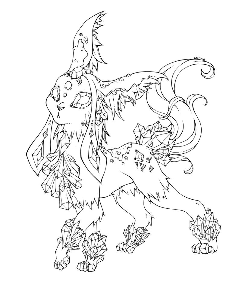 Image Result For Eeveelution Coloring Page