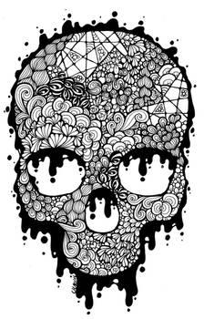 81. Doodles - Skull