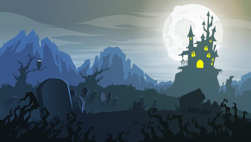 Haunted Castle by Snakieball