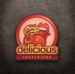 Delicious Recordings logo by Snakieball