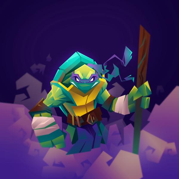 Donatello by Snakieball