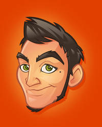 Vector caricature Alexy by Snakieball