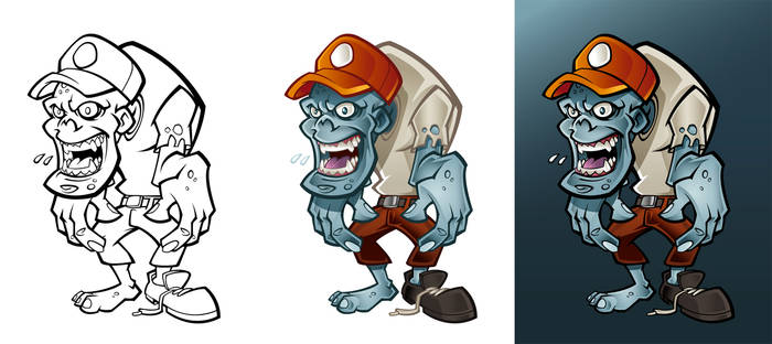 Character concept zombie