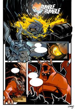 Comic test page1 Color