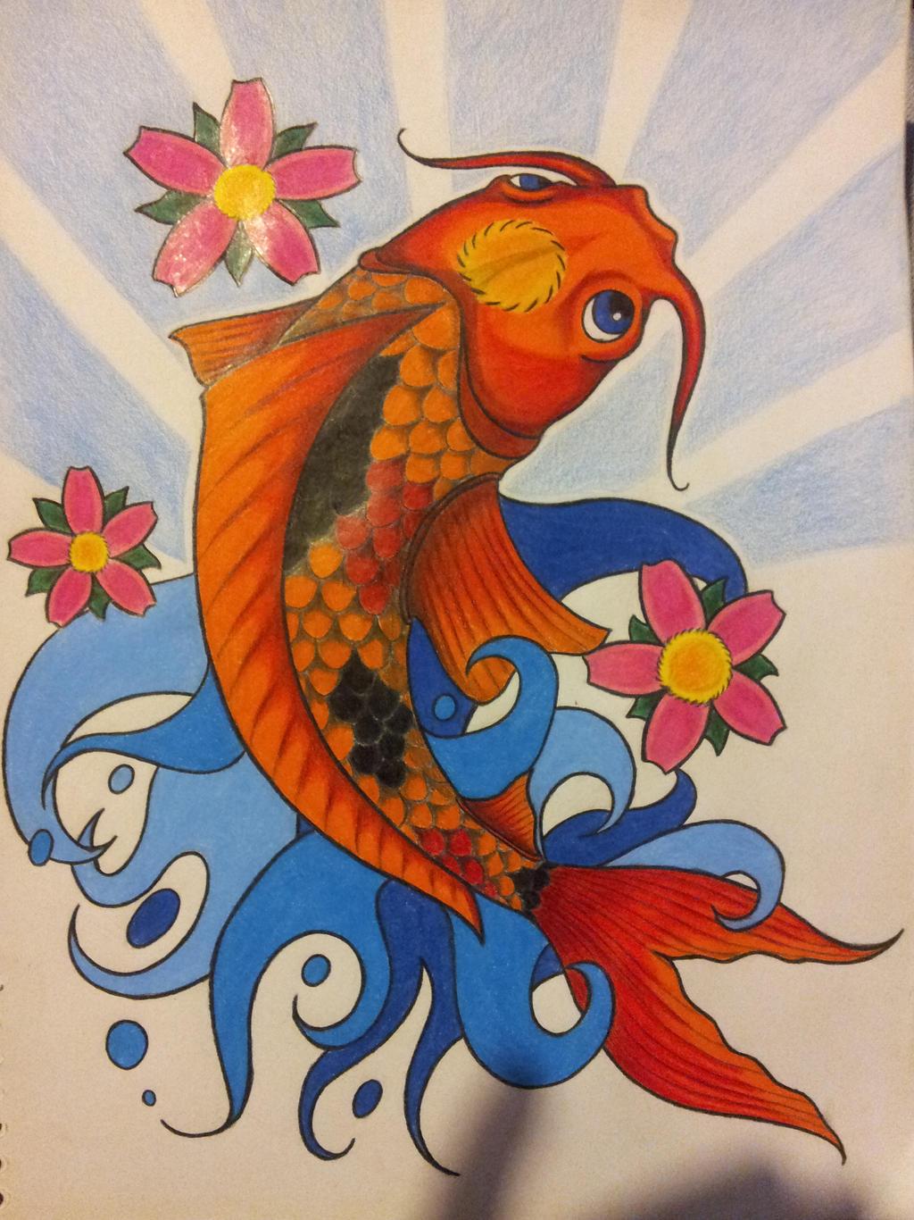 40 Beautiful Koi Fish Tattoo Designs TattooEasilycom - oukas.info
