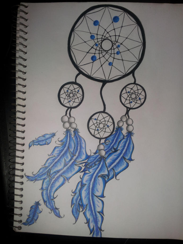 Dream catcher tattoo design by ink side on deviantart for Dream catcher tattoo template