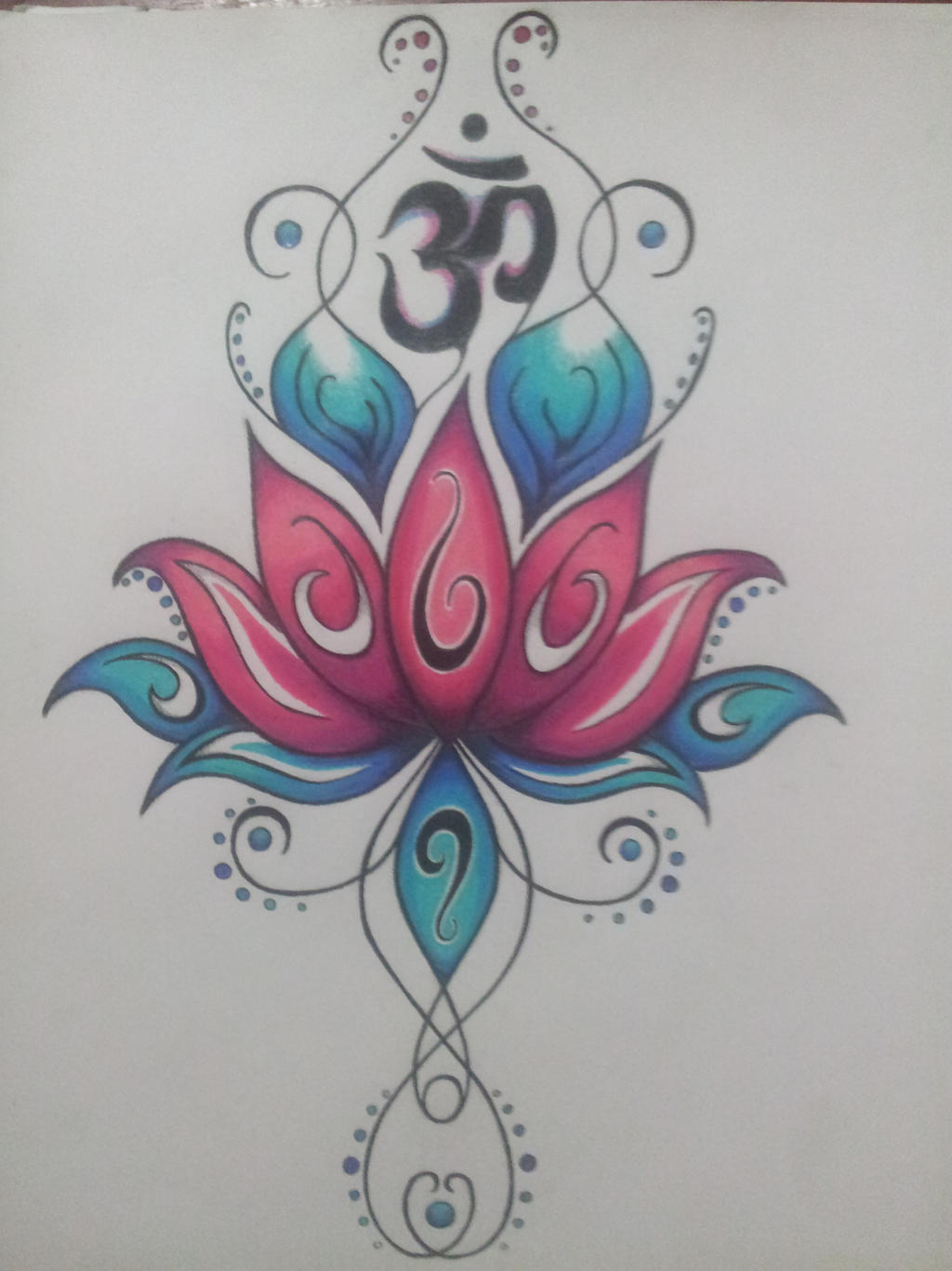 Namaste Tattoo Designs