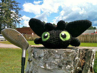 Toothless Headcover by Vivacia18