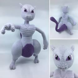Mewtwo Strikes Back! by Vivacia18