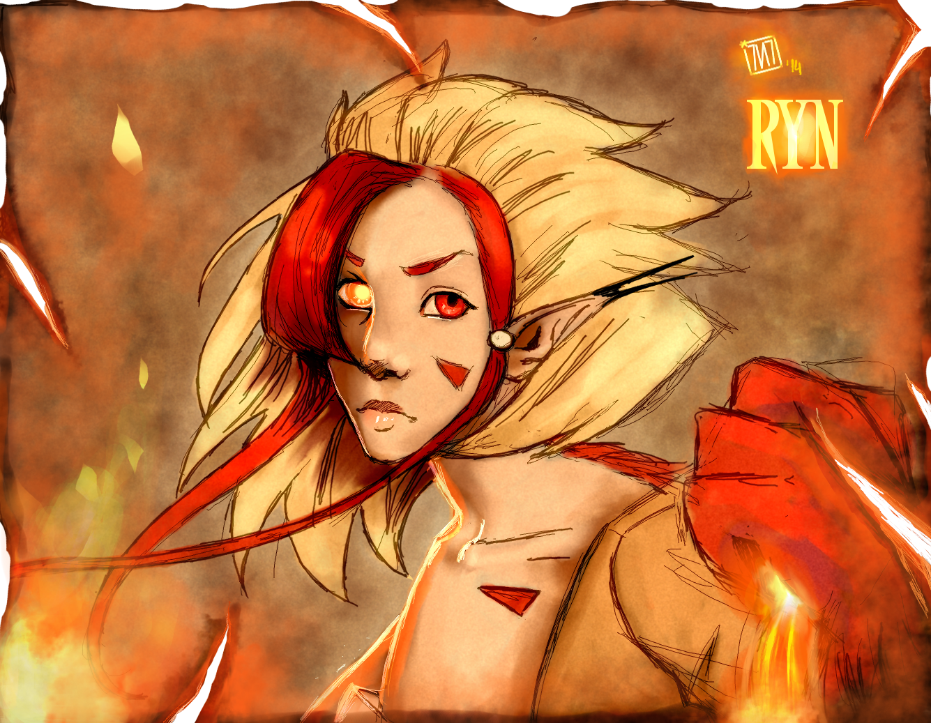 = Burn in the flames of Hell ! = by Sevenlole