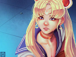 Sailor Moon Redraw Challenge
