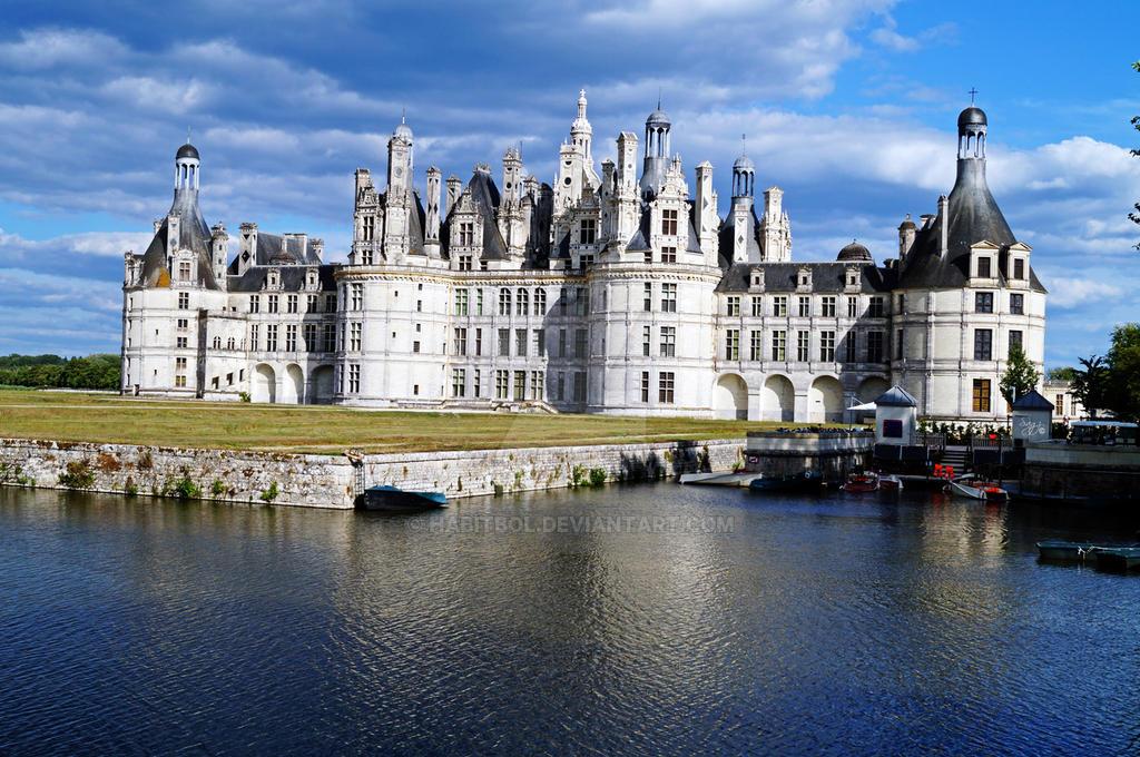 Chateau de Chambord by Habitbol