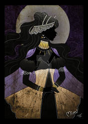 .crystal queen nehelenia by mimiclothing