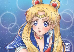 .sailor moon redraw challenge