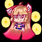 The cute fox girl by MegTheOddFan09